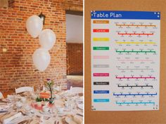 London underground table plan - We often have London themed weddings at the ICA. It compliments our view of Big Ben, the London Eye, The Mall, Westminster and The Shard.