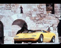 Lamborghini Countach by Bertone 1971-1978