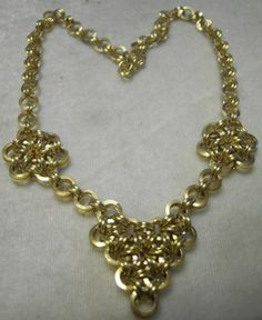 Hearts and Glowers Japanese 12 in 2 Chain Maille by fcwhimsey, $40.00
