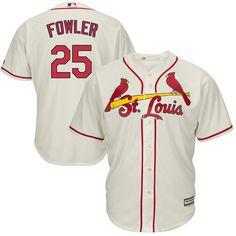 28e49c8d67c Dexter Fowler St. Louis Cardinals Majestic Alternate Cool Base Jersey -  Cream