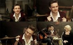  Young Martin in The Hello Girls. :D
