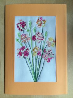 Quilted Floral Cards – A Tutorial
