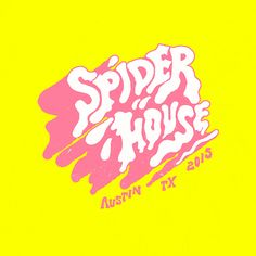 Inspired. Love the look of this for Spider House. Captures its essence really well.