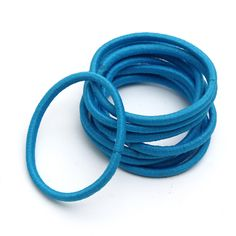 10Pcs Girls Women Candy Color Elastic Hair Bands Rope Ties only US$2.27