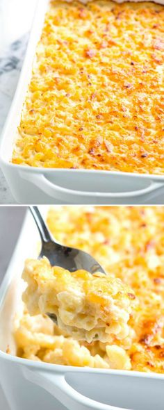 Crazy Good Creamy Baked Mac and Cheese Recipe // We love most mac and cheese recipes, but this one is at the top of our list. It's easy to make, can be served as stovetop mac and cheese or baked and it's unbelievably cheesy and creamy. When choosing pasta Good Macaroni And Cheese Recipe, Stovetop Mac And Cheese, Best Mac And Cheese, Mac Cheese Recipes, Mac And Cheese Homemade, Elbow Macaroni Recipes, Best Creamy Baked Mac And Cheese Recipe, Mac And Chesse Recipe, Vegetarian Mac And Cheese