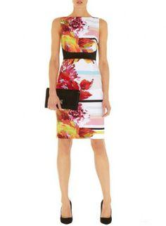 Multi Day Dress - Bqueen Floral Print Dress K1403