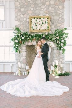 Wedding Dress: Kleinfeld Bridal - http://www.stylemepretty.com/portfolio/kleinfeld Groom's Attire: Calvin Klein - http://www.stylemepretty.com/portfolio/calvin-klein-4 Photography: Love & Light Photographs - www.loveandlightphotographs.com   Read More on SMP: http://www.stylemepretty.com/2016/10/11/blogger-bride-jess-galfo-wedding-part-ii/