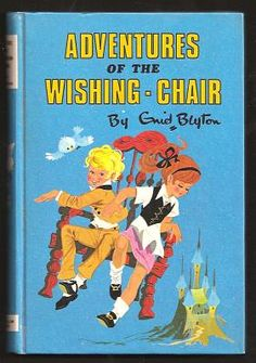 Enid Blyton is another author who dominated my child hood. I used to long to get into the wishing chair and wish my way anywhere around the world