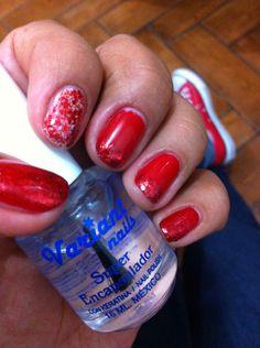 """Sinfulcolors 852 """"gogo girl"""" glitter de saniye número 35 y encapsulador variant nails"""