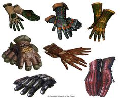 Gloves Design #1 by Concept-Art-House on deviantART