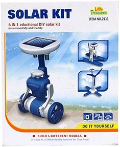 Little Treasures 6IN1 Solar Kit is an Educational and Entertaining Way to Learn  Play * Click image to review more details. #EarlyDevelopmentToys