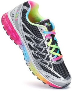 ef40976d1cdd Boost your workouts with the soothing comfort and bright style of these  women s Windmill 2 Energized running shoes from FILA.