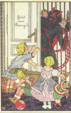Krampus comes for the naughty children