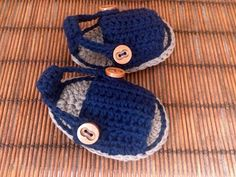 Sandalias o alpargatas para bebé tejidas a crochet (VIDEO II) - YouTube