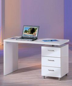 Escritorio moderno 3 cajones muebles de oficina tienda for Privalia muebles