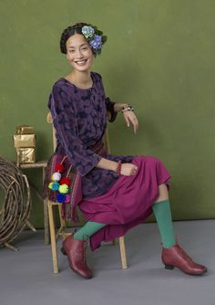 Exciting contrasts – GUDRUN SJÖDÉN – Webshop, mail order and boutiques | Colorful clothes and home textiles in natural materials.