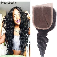 Cheap 6A Brazilian Virgin Hair Lace Closure Loose Wave Free/Middle/3 Part Lace Closure Bleached Knots 100% Virgin Human Hair - http://jadeshair.com/cheap-6a-brazilian-virgin-hair-lace-closure-loose-wave-freemiddle3-part-lace-closure-bleached-knots-100-virgin-human-hair/  Closure