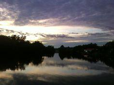 bridgewater sunset