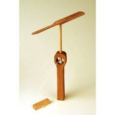 Whirly Gig Wooden Toy - Kids Wood Toy - Puddle Jumper. $18.00, via Etsy.