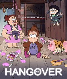 Gravity falls hangover style