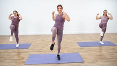 Get ready to strengthen your core with this workout from celebrity trainer Kit Rich. This session is inspired by Yogi Blackberry Apple Cider 30 Minute Workout, Pilates Workout, Cardio, Yoga Fitness, Fitness Tips, Victoria Secret Workout, Flat Belly Workout, Aerobics, At Home Workouts