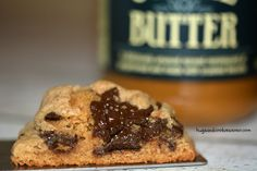 Cookie Butter Chocolate Chunk Cookies - Hugs and Cookies XOXO Fudge Cake, Hot Fudge, Cookie Bars, Cookie Dough, Chocolate Chunk Cookie Recipe, Chocolate Chips, Caramel, Cream Cheese Pound Cake, Custard Cake