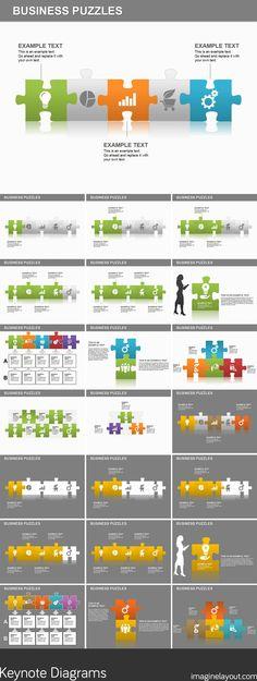 Venn Diagrams Keynote Template Keynote Diagrams Pinterest Venn