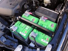 Slee Dual Battery Tray kit for 2005-2015 Tacoma for 2x Interstate Group 31 batteries.