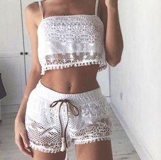 Cute Skirt Outfits, Cute Lazy Outfits, Cute Skirts, Boho Outfits, Girl Outfits, Fashion Outfits, Lingerie Outfits, Lingerie Sleepwear, Cute Pajama Sets