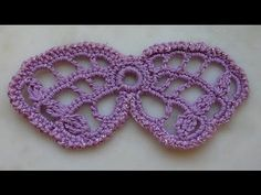 how to crochet butterfly irish crochet tutorial free pattern (+playlist)