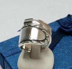 Nostalgischer Besteckring Silber glänzend 19 SR578 von Atelier Regina  auf DaWanda.com