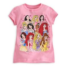 Disney Princess Tee for Girls