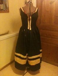 asst'd 16th c German patterns (cheater wulst, smocking, Kampfrau and Cranach style dresses)