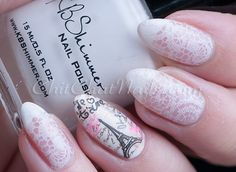 UberChic Beauty - Paris in Love REVIEW  J'taime Paris! I love Paris by Uber Chic Beauty Stamps! What a great way to express your love for the language of love! Nail art is so detailed and so pretty! I can't wait to try this out for spring! Nail art Rocks!