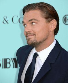 Leo making the Classic Leo face
