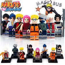Naruto Jump Shippuden Anime Minifigures Mini Figure 8pcs Set fits lego