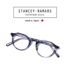 35ea5ff3dca Stancey Ramars Eyewear is hand-made in the legendary city of Sabae (Fukui)