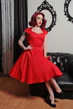 Heartbreaker Dress in Red