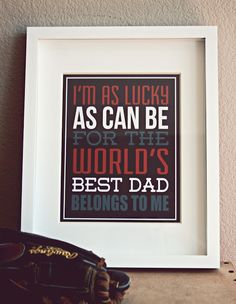 Fathers Day Print - free printable