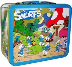 Smurfs Village Lunch Box