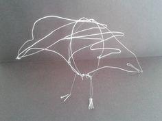 Cuervo en alambre 3