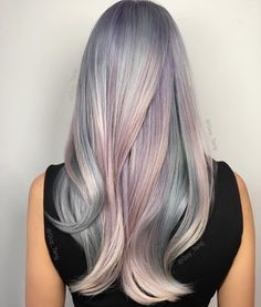 """Mother of Pearl"" Would you wear this hair color? by guy_tang"