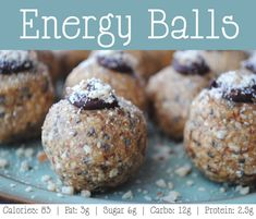 Recipe: Healthy and Sweet Nut Butter Energy Balls