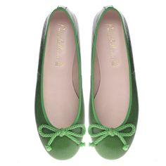 Rosario in Green from Pretty Ballerinas