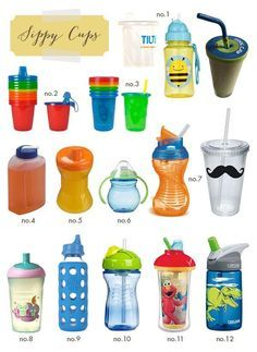 best sippy cups, with reviews and preferences