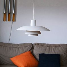 1966 Poul Henningsen PH Lamp, now featured on Fab. Beautiful Interior Design, Beautiful Interiors, Ph Lamp, Light Shades, Pendant Lamp, Tech Accessories, Mid Century, Room Decor, Ceiling Lights