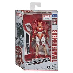"""Elita-1, a fearless and powerful warrior, will stop at nothing to defend Cybertron. This Elita-1 toy converts to her Cybertronian vehicle mode in 15 steps and includes 1 series-inspired accessory. Deluxe class 5.5"""" scale Action figures inspired by Arc 1 from the Transformers: War for Cybertron Trilogy. Transformers Decepticons, Transformers Characters, Transformers Action Figures, Hasbro Transformers, Transformers Prime, Lego Girls, Toys For Girls, Retail Image, Netflix Original Anime"""