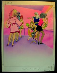 Jem Cartoon, Book Characters, Disney Characters, Fictional Characters, Trans Art, Vintage Illustration Art, Jem And The Holograms, Victorian Art, Barbie Friends