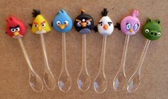 Cute Polymer Clay, Polymer Clay Miniatures, Garra, Angry Birds 5, Clay Animals, Cold Porcelain, Themed Cakes, Finland, Biscuit
