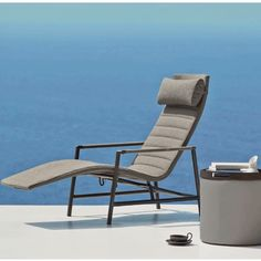 Core Deck Chair by Cane-Line While reminiscent of a traditional chaise lounge chair, the Core Sun Lounger offers a unique function and design that sets it apart.